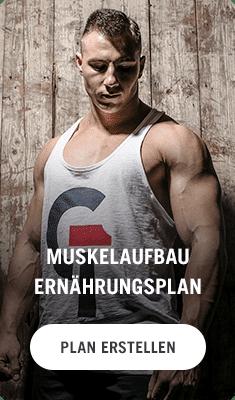 Topnatrual Ernährungsplan zum Muskelaufbau